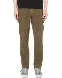 Ralph Lauren | Green Straightfit Cargo Trousers Rugby Olive for Men | Lyst