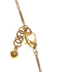 Lulu Frost | Metallic Blackheart Lock Necklace | Lyst