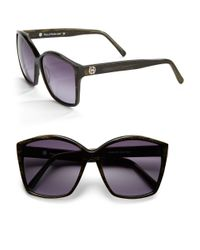 House of Harlow 1960 | Metallic Jordana 59mm Square Sunglasses | Lyst
