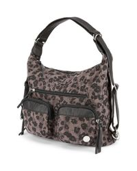 Volcom - Black 'Outta Town' Convertible Backpack Purse - Lyst
