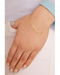 Jennifer Meyer | Metallic Strength 18-karat Gold Bracelet | Lyst