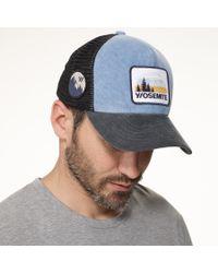 James Perse - Blue Yosemite Trucker Hat for Men - Lyst