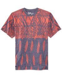 LRG - Purple Oceanic Printed T-Shirt for Men - Lyst