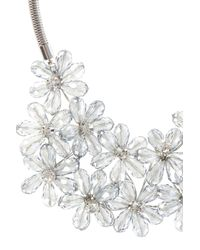 Coast | Metallic Fenella Floral Necklace | Lyst