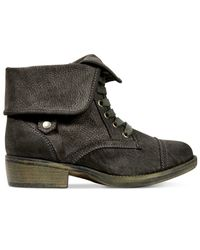 Rocket Dog - Gray Taylor Foldover Booties - Lyst