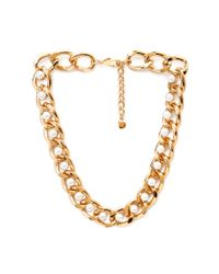 Forever 21 | Metallic Romantic Rebel Chain Necklace | Lyst