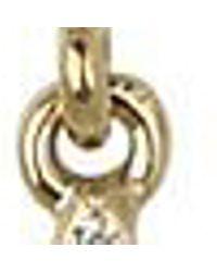 Nina Metallic Eiffel Earrings