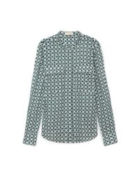 Tory Burch | Green Brigitte Shirt | Lyst