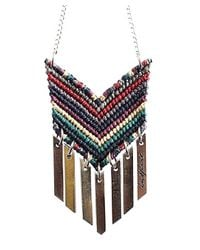 Wakami - Black P.s. Inspire Necklace (red Multi) - Lyst