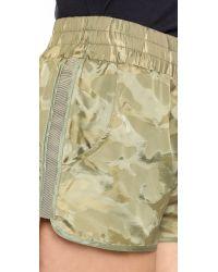 Heroine Sport | Green Training Shorts - Camo | Lyst