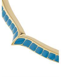 Aurelie Bidermann - Blue Apache Gold-Plated Necklace - Lyst
