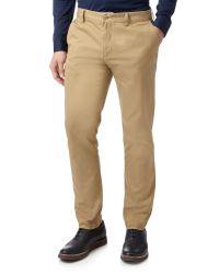 Lacoste | Natural Slim Fit Trousers for Men | Lyst