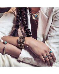 Pamela Love | Metallic Frida Breastplate In White Bronze | Lyst
