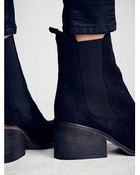 Free People - Blue Fp Collection Womens Benson Chelsea Boot - Lyst