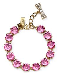 kate spade new york - Pink Fancy That Bracelet - Lyst