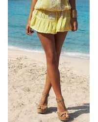 Melissa Odabash | Yellow Embroidered Dress Jaz | Lyst