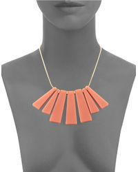 Trina Turk | Pink Small Bar Shower Necklace for Men | Lyst