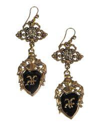 Alberta Ferretti - Black Earrings - Lyst