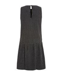 Ace & Jig - Black Metallic Pattern Party Frock Dress - Lyst