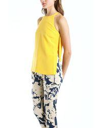 3.1 Phillip Lim - Yellow Sleeveless Tank In Mango - Lyst