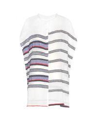 lemlem - Multicolor Meron Henley Cotton-blend Dress - Lyst
