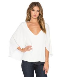 Bishop + Young - White Butterfly Top - Lyst