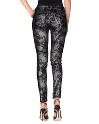 GAUDI - Gray Denim Trousers - Lyst