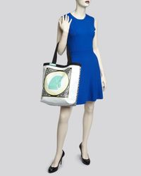 Jonathan Adler - White Tote Talulla Double Sided Large - Lyst