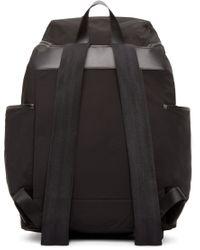 Burberry - Black Nylon Drifton Backpack for Men - Lyst