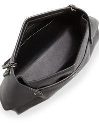 Akris - Black Ai Medium Leather Messenger Bag - Lyst