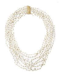 Rosantica | White Pegaso Pearl Necklace | Lyst