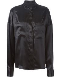 Haider Ackermann - Black 'dali' Shirt - Lyst