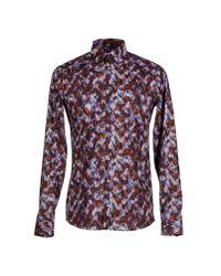 Jil Sander - Purple Shirt for Men - Lyst