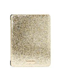 Kate Spade | Metallic Glitter Bug Folio Ipad Air 2 Hardcase | Lyst