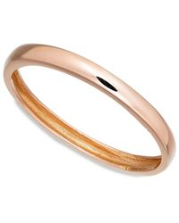 Macy's | Pink 14k Rose Gold Polished Ring | Lyst