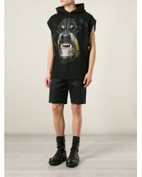 Givenchy - Black Rottweiler Print Sweatshirt for Men - Lyst