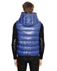 Duvetica - Blue Aristeo Nylon Vest Down Jacket for Men - Lyst
