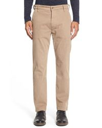 7 For All Mankind | Natural 'luxe Performance' Slim Fit Chinos for Men | Lyst