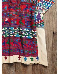 Free People - Blue Vintage Guatemalan Huipil - Lyst
