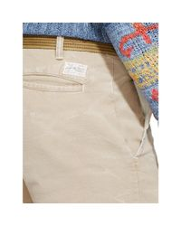 Polo Ralph Lauren - Natural Straight-fit Chino Short for Men - Lyst