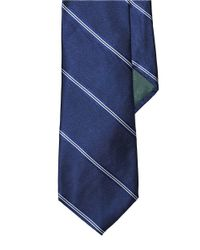 Lauren by Ralph Lauren | Blue Striped Silk Tie for Men | Lyst