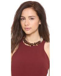 Lizzie Fortunato - Brown Modern Kyoto Necklace - Lyst