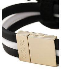 Shourouk - Black Embellished Butterfly Bracelet - Lyst