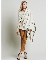Free People | White Augusta Pullover Wrap | Lyst