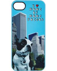 Marc By Marc Jacobs - Blue Olive The Dog Iphone 55s Case - Lyst
