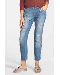 Volcom | Blue Boyfriend Jeans | Lyst