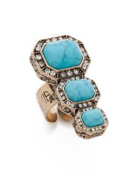 Samantha Wills | Blue Young Picasso Ring - Turquoise/Gold | Lyst