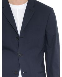 JOSEPH | Blue Bruce Micro Hound'S-Tooth Blazer for Men | Lyst