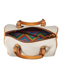 Dooney & Bourke - Natural Claremont Olivia Satchel - Lyst