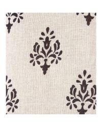 Velvet By Graham & Spencer - Black Roseanne Printed Silk and Cotton Blend Top - Lyst
